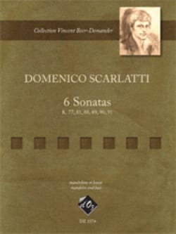Domenico Scarlatti - 6 Sonatas - Sheet Music - di-arezzo.co.uk