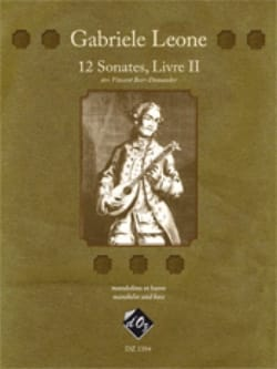 Gabriele Leone - 12 Sonates Livre 2 - Partition - di-arezzo.fr