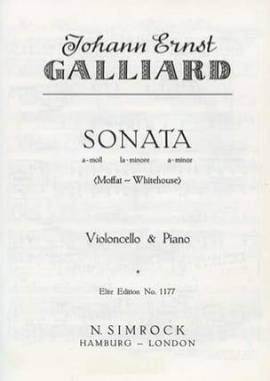 Sonate en la Mineur - Johann Ernst Galliard - laflutedepan.com