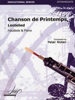Peter Noten - Chanson de Printemps - Hautbois et piano - Partition - di-arezzo.fr