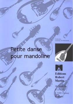 Petite Danse pour Mandoline Marc Brunel Partition laflutedepan