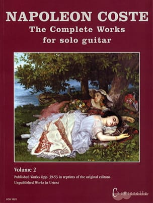 The Complete Works For Solo Guitar Volume 2 laflutedepan