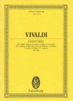 Concerto F-Dur - Antonio Vivaldi - Partition - laflutedepan.com