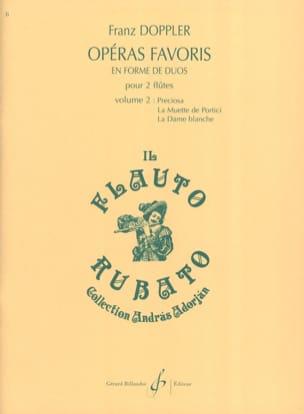 Albert Franz Doppler - Opéras Favoris en Forme de Duos Volume 2 - Partition - di-arezzo.fr