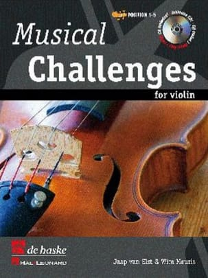 Wim Meuris - Musical Challenges For Violin - Sheet Music - di-arezzo.com