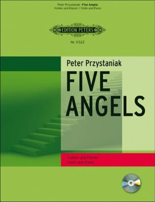 Peter Przystaniak - Five Angels for Violin - Partition - di-arezzo.fr