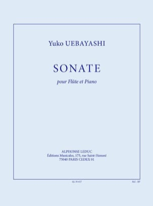 Yuko Uebayashi - Sonata for flute and piano - Sheet Music - di-arezzo.co.uk