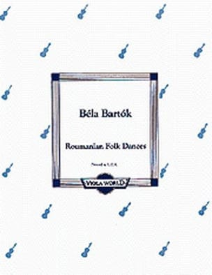 Danses Roumaines BARTOK Partition Alto - laflutedepan