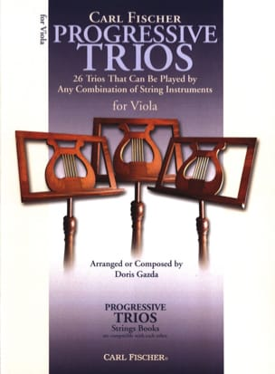 Doris Gazda - Progressive Trios For Strings - Viola - Partition - di-arezzo.fr