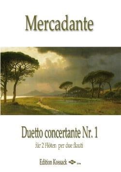 Duetto Concertante N°1 en Do Majeur - laflutedepan.com