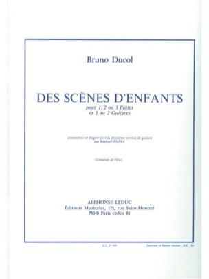 Bruno Ducol - Des scènes d'enfants - Partition - di-arezzo.fr