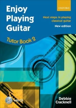 Debbie Cracknell - Enjoy Playing Guitar - Tutor Book 2 Inclus - Partition - di-arezzo.fr