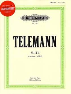 Georg Philipp Telemann - Suite en la Mineur pour Flûte - Partition - di-arezzo.fr