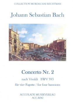 Concerto N° 2 A-Moll BWV 593 (nach Vivaldi) - Partitur & Stimmen - laflutedepan.com
