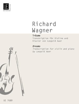 Richard Wagner - Träume (Rêves) - Partition - di-arezzo.fr