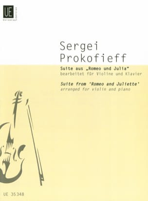 Serge Prokofiev - Suite Romeo and Juliet - Sheet Music - di-arezzo.co.uk