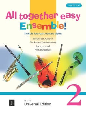 All Together Easy Ensemble ! Volume 2 James Rae Partition laflutedepan