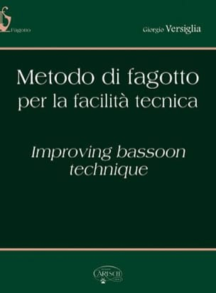 Giorgio Versiglia - Metodo di Fagotto for the Facilita Tecnica - Sheet Music - di-arezzo.com
