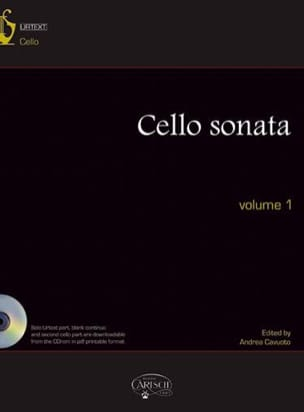 - Cello Sonatas Volume 1 / Urtext Inclus - Partition - di-arezzo.fr
