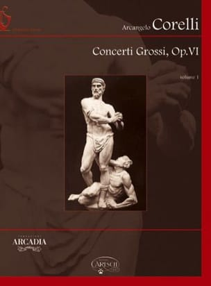 CORELLI - Concerti Grossi Opus 6 - Volume 1 Rom - Sheet Music - di-arezzo.co.uk