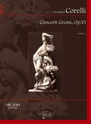CORELLI - Concerti Grossi Opus 6 Volume 2 Rom - Sheet Music - di-arezzo.co.uk