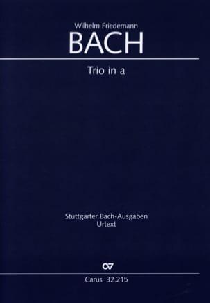 Trio en la Mineur - Br-Wfb: B15 Fk 49 Urtext - laflutedepan.com