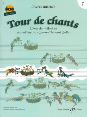 Tour de Chants Volume 7 - Jean-Clément Jollet Partition laflutedepan
