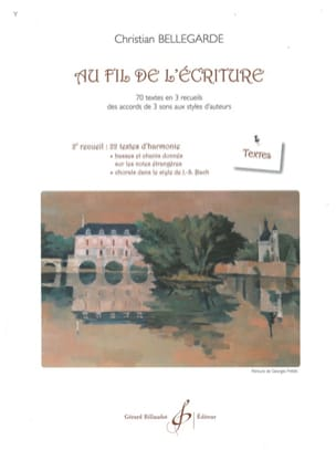 Christian Bellegarde - In the Thread of Writing - 2nd Compendium - Texts - Sheet Music - di-arezzo.co.uk