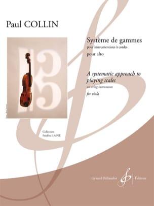 Paul Collin - Range System For Alto - Sheet Music - di-arezzo.co.uk