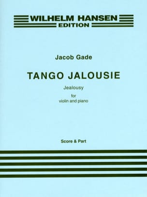Tango Jalousie - Jacob Gade - Partition - Violon - laflutedepan.com
