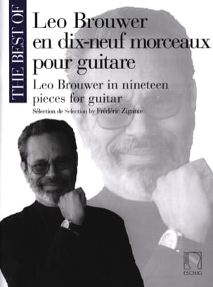 Leo Brouwer - Leo Brouwer in 19 Pieces for Guitar - Sheet Music - di-arezzo.com