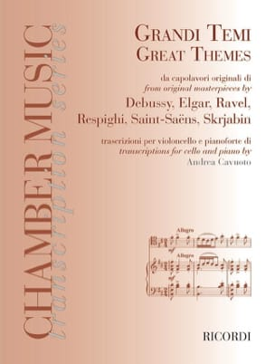 - Great Themes From Original Masterpieces - Sheet Music - di-arezzo.com