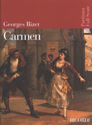 BIZET - Carmen - Partition - di-arezzo.com