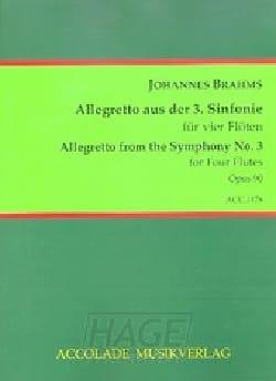 BRAHMS - Allegretto of the 3rd symphony - Sheet Music - di-arezzo.com