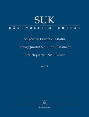 Quatuor A Cordes N°1 en Sib Majeur Opus 11 Josef Suk laflutedepan