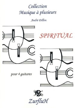 Spiritual James Dillon Partition Guitare - laflutedepan
