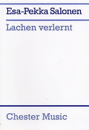 Lachen Verlernt - Esa-Pekka Salonen - Partition - laflutedepan.com