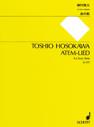 Toshio Hosokawa - Atem Lied - Sheet Music - di-arezzo.co.uk