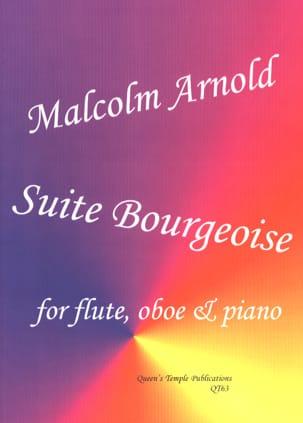 Suite Bourgeoise Malcolm Arnold Partition Trios - laflutedepan