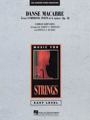 Danse Macabre From Symphonic Poem In G Minor Op. 40 - Score & Parts laflutedepan