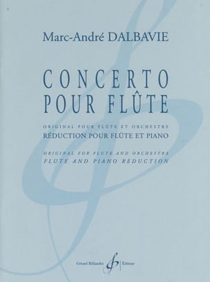 Marc-André Dalbavie - Flute Concerto - Sheet Music - di-arezzo.co.uk
