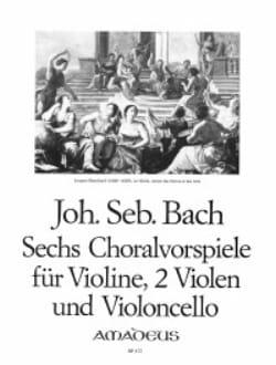 Johann Sebastian Bach - 6 Chorals - Partition - di-arezzo.fr