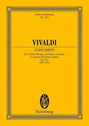 Antonio Vivaldi - Concerto g-moll - Partition - di-arezzo.fr