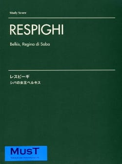 Belkis, Regina Di Saba - Ottorino Respighi - laflutedepan.com