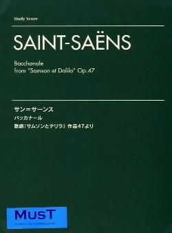Camille Saint-Saens - Bacchanale de Samson et Dalila Op. 47 - Partition - di-arezzo.fr