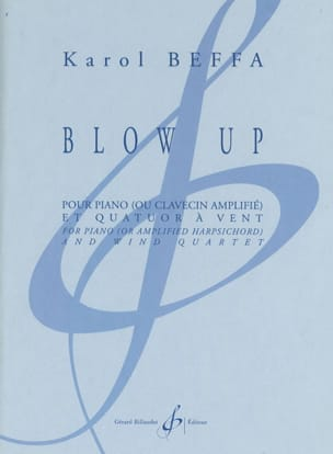 Karol Beffa - Blow Up - Partition - di-arezzo.fr
