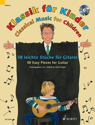 Klassik für Kinder - Guitare - Partition - laflutedepan.com