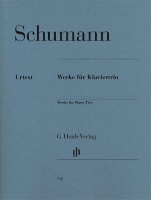 SCHUMANN - Works for Trio with Piano - Sheet Music - di-arezzo.com