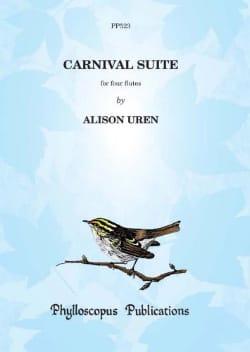 Alison Uren - Carnival Suite - Score & Parts - Partition - di-arezzo.fr