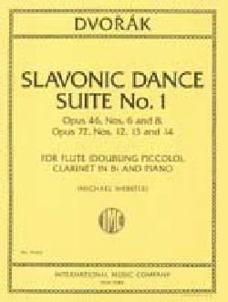 Antonin Dvorak - Slavonic Dance Suite N° 1 - Partition - di-arezzo.fr